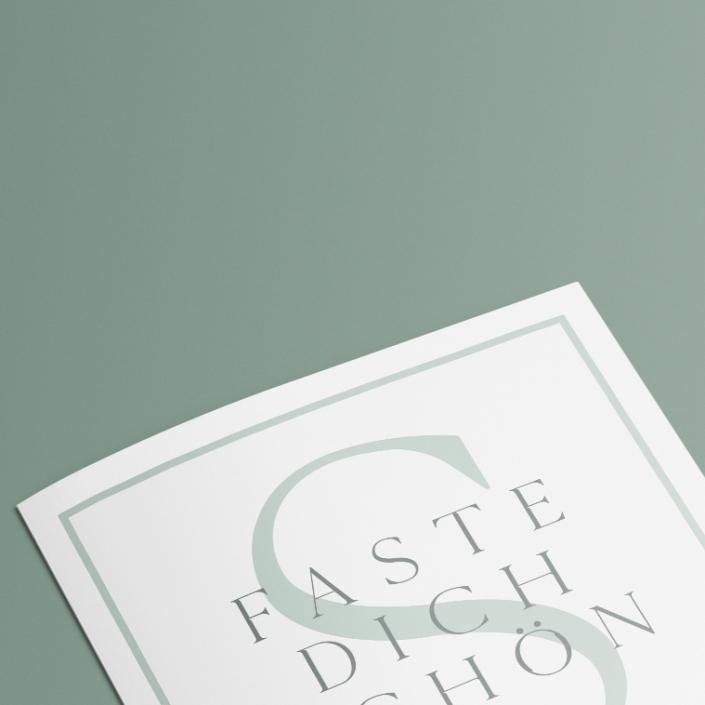 Grafik Wien, Logo Neugestaltung Faste dich schön